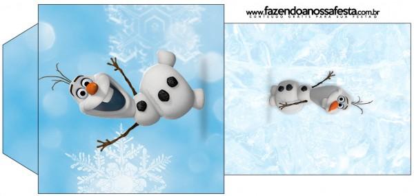 Saquinho de Chá Olaf Frozen