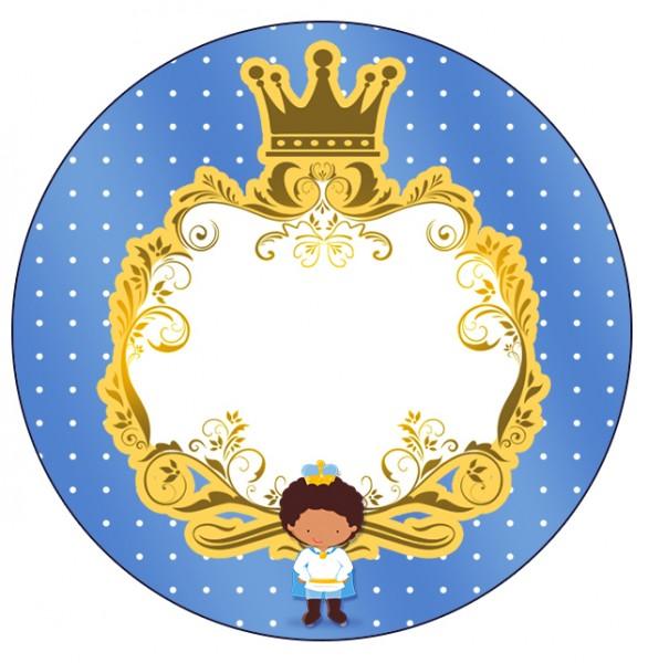 Tubetes, Latinhas e Toppers Príncipe Afro