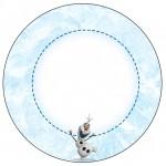 Tubetes, Toppers e Latinhas Olaf Frozen