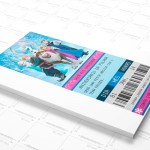 Convite Frozen Ingresso Cinema!