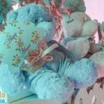 Festa Floral Vintage Azul e Rosa da Alice Marina