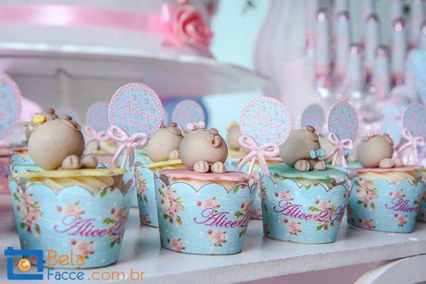 festa jardim azul e rosa