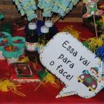 Plaquinha Festa Patati e Patata do Luiz Ottávio