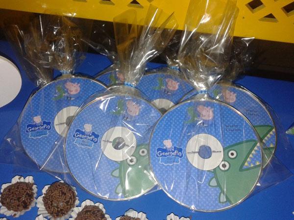 CD DVD Festa George Pig do Davi