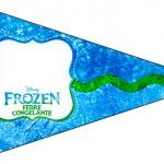 Bandeirinha Sanduiche 3 Frozen Febre Congelante