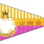Bandeirinha Sanduiche 3 Fundo Princesa