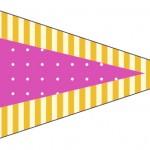 Bandeirinha Sanduiche 7 Fundo Princesa