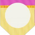 Bandeirinha Varalzinho Fundo Princesa