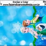 Bisnaga Brigadeiro Frozen Febre Congelante