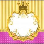 Bolinha de Sabão Fundo Princesa