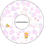 CD DVD Páscoa Coelhinho Cute Rosa