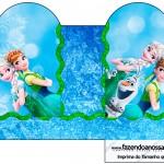 Caixa Coração Frozen Febre Congelante