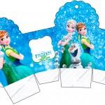 Caixa Cupcake Frozen Febre Congelante
