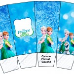 Caixa Pipoca Frozen Febre Congelante