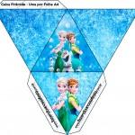 Caixa Pirâmide Frozen Febre Congelante