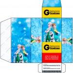 Caixa Remédio Frozen Febre Congelante
