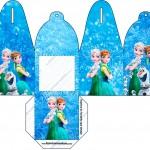 Caixa com Foto Frozen Febre Congelante