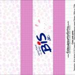 Caixa Bis Personalizada para Páscoa Menina 1
