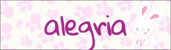 Alegria Caixa Bis Personalizada para Páscoa Menina 2