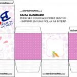 Caixa Bis Personalizada para Páscoa Menina 2
