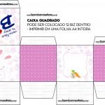 Caixa Bis Personalizada para Páscoa Menina 3
