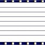 Cartão Agradecimento Batizado Azul Marinho Anjinho Loiro