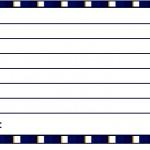 Cartão Agradecimento Batizado Azul Marinho Anjinho Loiro 2