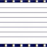 Cartão Agradecimento Batizado Menino Azul Marinho e Branco 2