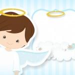 Batizado Azul Claro – Kit Festa Infantil!