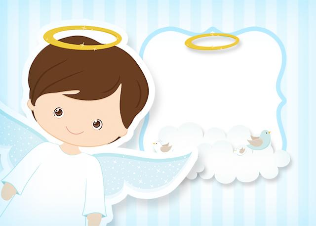 Batizado Azul Claro Kit Festa Infantil