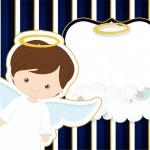 Batizado Menino Azul Marinho e Branco – Kit Festa Infantil!