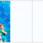 Convite, Cardápio ou Cronograma em Z Frozen Febre Congelante