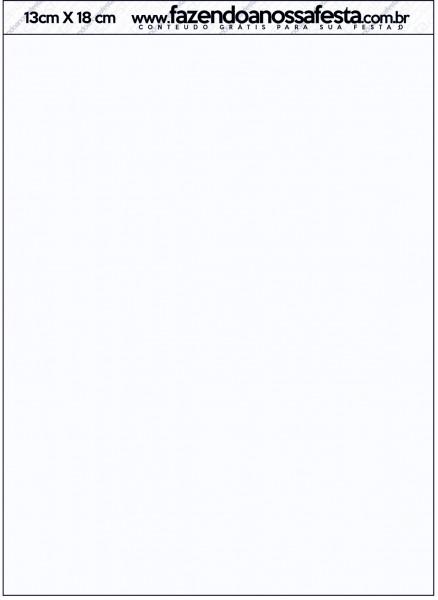 Convite Envelope Batizado Azul Claro