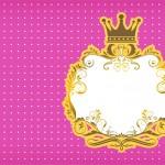 Convite Fundo Princesa