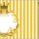 Convite Ingresso Fundo Princesa