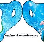 Convite Xícara Frozen Febre Congelante