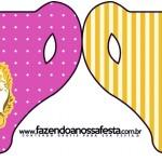 Convite Xícara Fundo Princesa