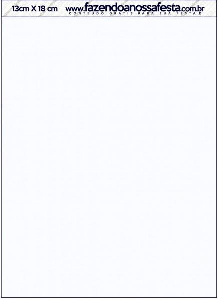 Convite com Envelope Batizado Menino Azul Marinho e Branco