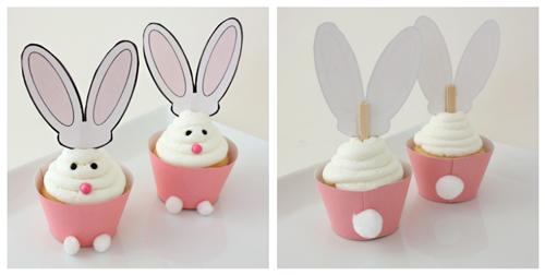 Cupcake para Páscoa - Passo a Passo 3