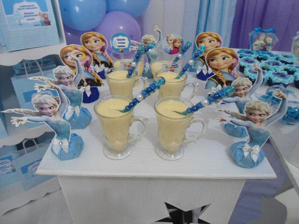Doces Festa Frozen da Laura