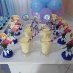 Lembrancinha Festa Frozen da Laura