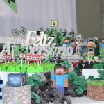 Festa Minecraft do Yan