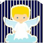 Envelope Convite Batizado Azul Marinho Anjinho LoiroEnvelope Convite Batizado Azul Marinho Anjinho Loiro