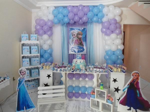 Festa Frozen da Laura
