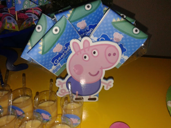 Festa George Pig do Davi
