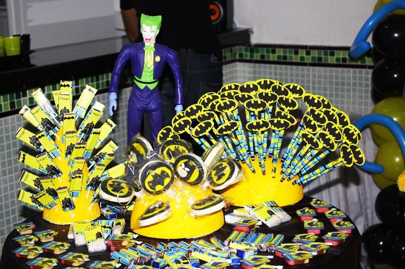 Festa de Aniversário do Arthur com o tema Batman