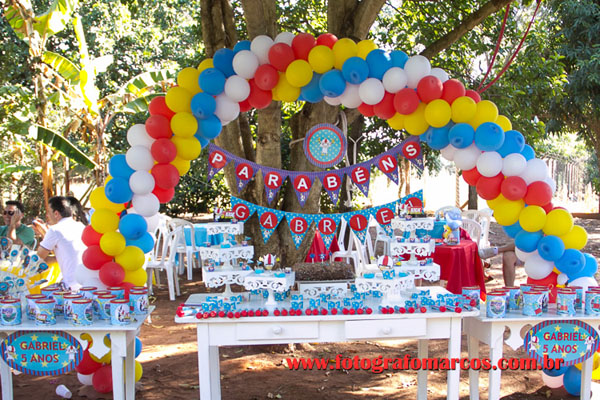 Festa do Kick Buttowisk do Gabriel