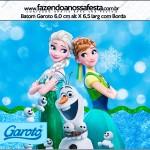 Rótulo Batom Frozen Febre Congelante