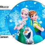 Porta Guardanapos Frozen Febre Congelante