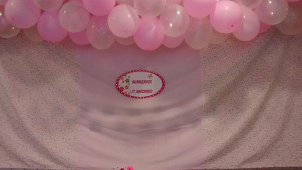 Placa Elipse Festa Rosa Provençal da Mariana